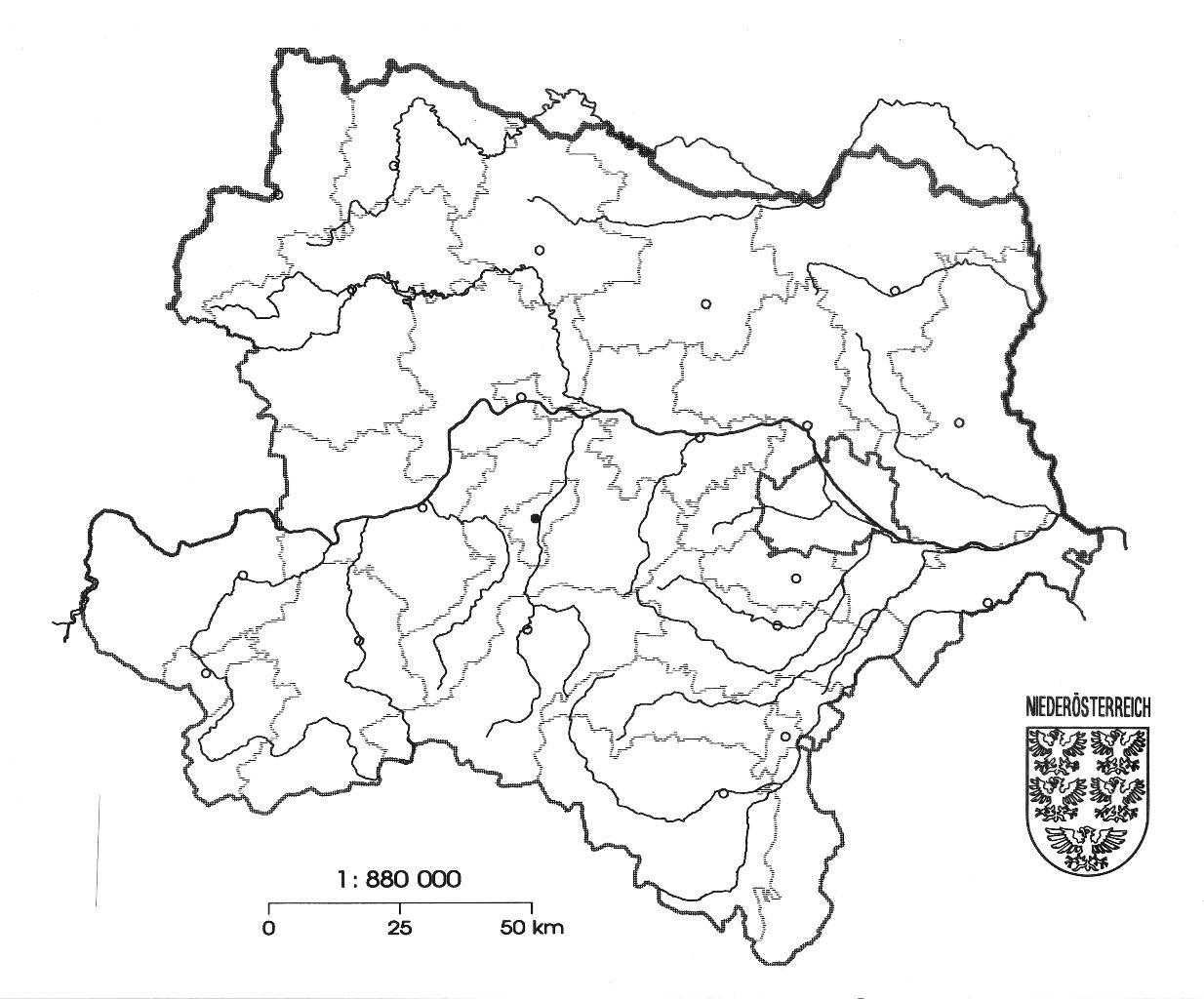 Stumme Karte Niederösterreich Schule At