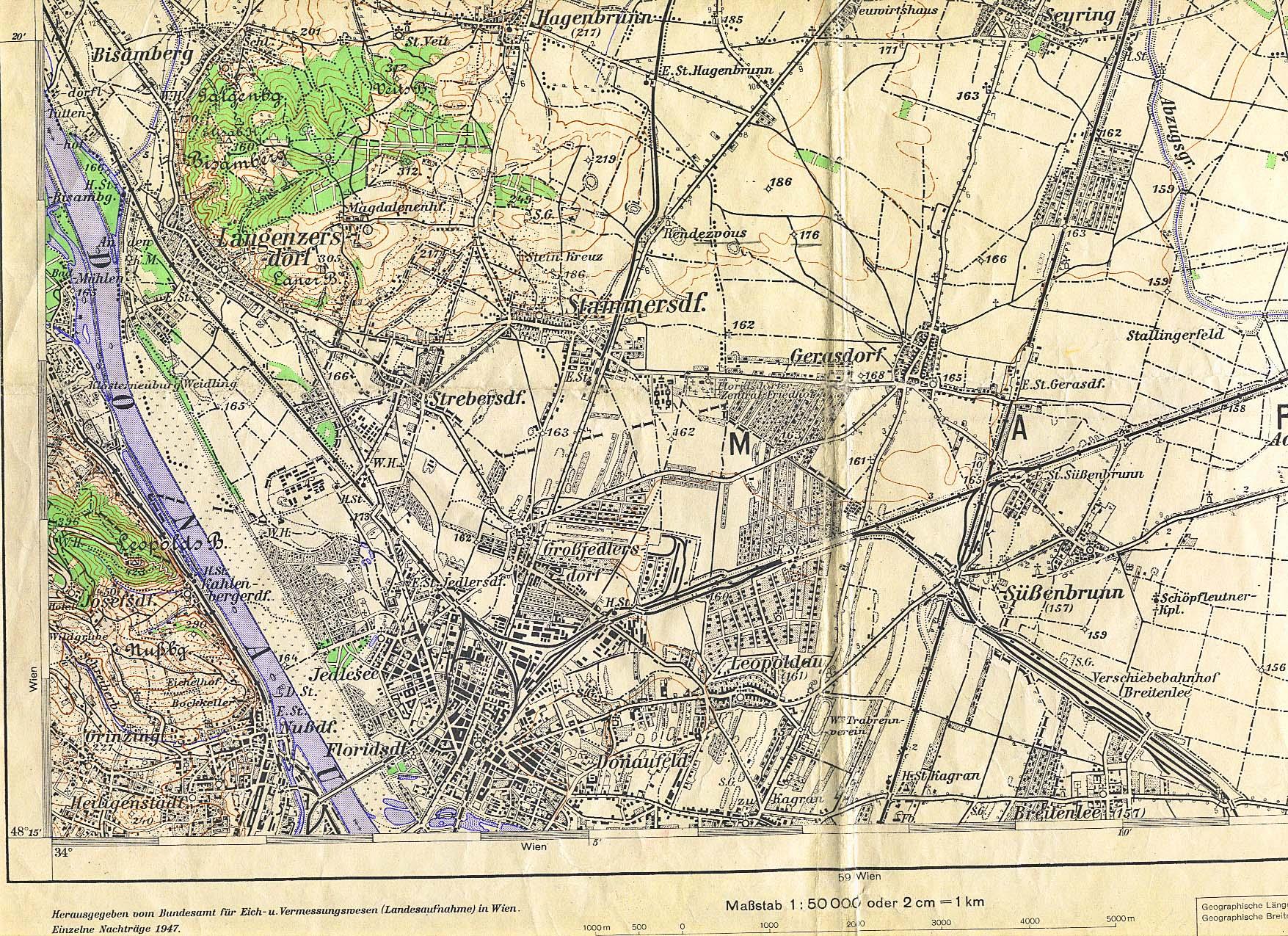 Karte Wien Niederosterreich.Fachportal Der Padagogischen Hochschule Niederosterreich Karten