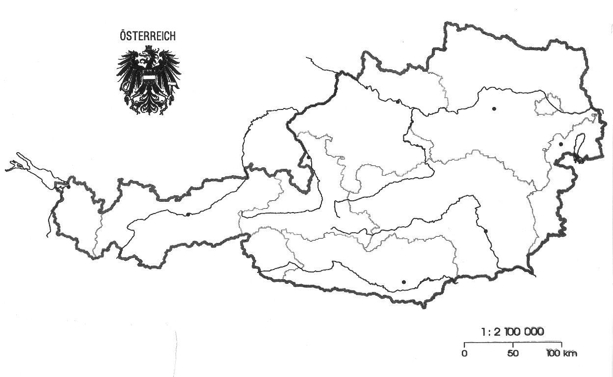 Stumme Karte.Fachportal Der Padagogischen Hochschule Niederosterreich Karten